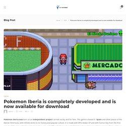 Pokemon Iberia Descargar Gratis (New Version) - Techicecream