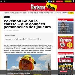 Pokémon Go ou la chasse… aux données personnelles des joueurs