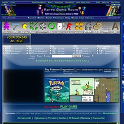Play Pokemon Dragonstone 2 rom hack Game Online - Game Boy Advance free gba
