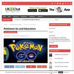 Pokémon Go and Education
