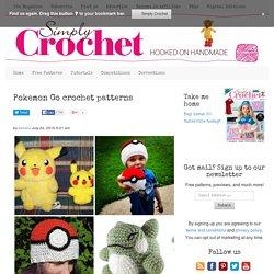 Pokemon Go crochet patterns