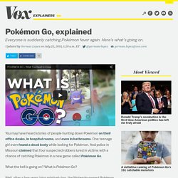 Pokémon Go, explained