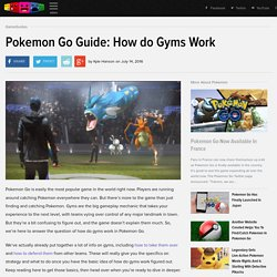 Pokemon Go Guide: How do Gyms Work