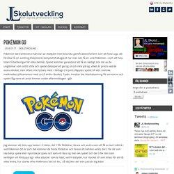 Pokémon GO – JL Skolutveckling