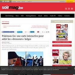 Pokémon Go: une carte interactive pour aider les «dresseurs» belges