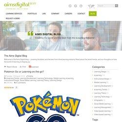 Pokémon Go or Learning-on-the-go?