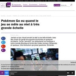 Pokémon Go ou quand le jeu se mêle au réel à très grande échelle