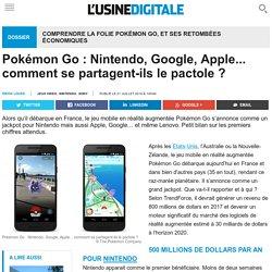 Pokémon Go : Nintendo, Google, Apple... comment se partagent-ils le pactole ?