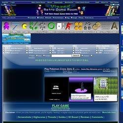 Play Pokemon Crono (beta 2) rom hack Game Online - Game Boy Advance free gba