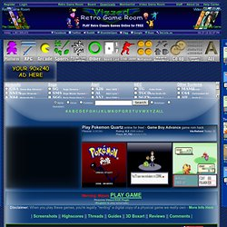 Play Pokemon Quartz rom hack Game Online - Game Boy Advance free gba