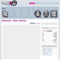 Play Pokemon - Silver Version online at playR!