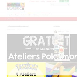 Les Pokémons de retour en classe! – Prof Numéric