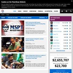 Poker news