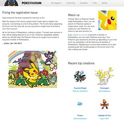 Pokestadium | The Battling Generation of Pokemon