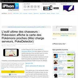 L'outil ultime des chasseurs : Pokevision affiche la carte des Pokémons proches