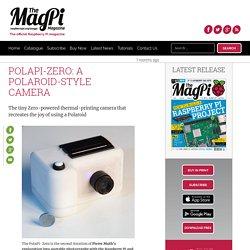 PolaPi-Zero: a Polaroid-style camera