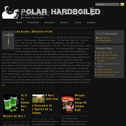 Dernières Lectures - Polar Hardboiled