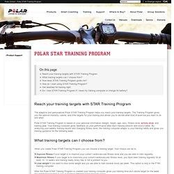 Polar STAR Training Program