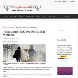 'Polar Vortex' NOT Proof of Global Warming