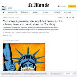 Le «trumpisme» au révélateur du Covid-19