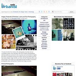 Holgas, Polaroids & Pinholes: Lush Low-Tech Photography