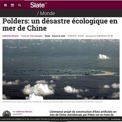 Polders: un désastre écologique en mer de Chine