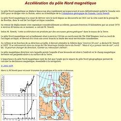 Pôle Nord magnétique