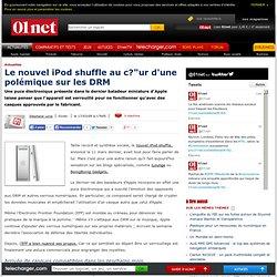 Polémique autour de l'iPod shuffle