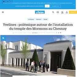 Yvelines : polémique autour de l'installation du temple des mormons au chesnay