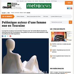 Polémique autour d'une femme nue en Touraine