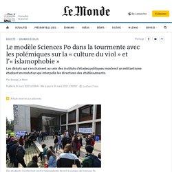 Le modèle SciencesPo dans la tourmente avec les polémiques sur la «culture du viol» et l'«islamophobie»