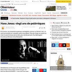 Hans Jonas: vingt ans de polémiques - 12 octobre 2012