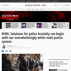 KING: Police brutality fix needs change in systems racial makeup