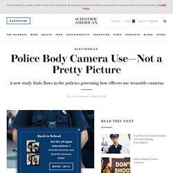 Police Body Camera Use
