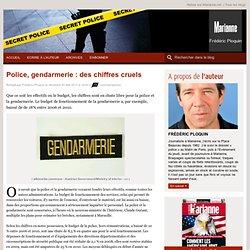 Police, gendarmerie : des chiffres cruels