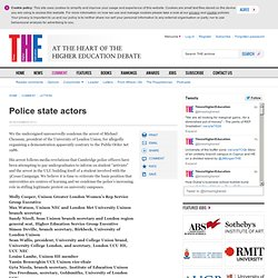 Police state actors