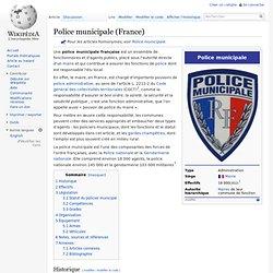 Police municipale (France)