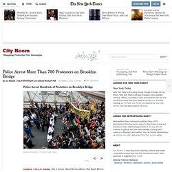 Police Arresting Protesters on Brooklyn Bridge