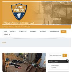 Junk Police - A Tucson Trash Removal Company