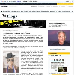 POLICEtcetera - Blog LeMonde.fr
