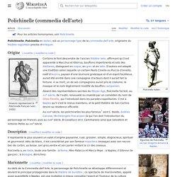 Polichinelle (commedia dell'arte)