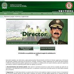 Policía Nacional de CO. Petición, queja, reclamo, sugerencia