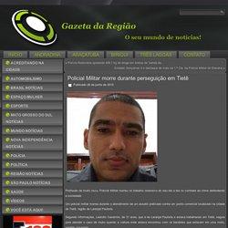 Policial Militar morre durante perseguição em Tietê