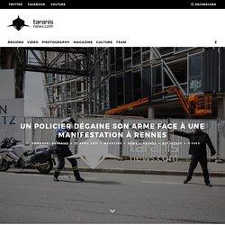 UN POLICIER DÉGAINE SON ARME FACE À UNE MANIFESTATION À RENNES – Taranis News
