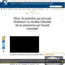 Nice: la policière qui accuse l'Intérieur va révéler l'identité de la personne qui l'aurait harcelée