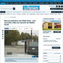 Bavure policière aux Etats-Unis : une nouvelle vidéo du meurtre de Walter Scott