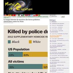 La longue histoire de meurtres des forces policières américaines contre les Noirs