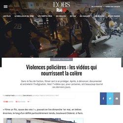 Violences policières: les vidéos qui nourrissent la colère
