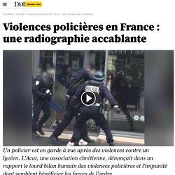 Violences policières en France : une radiographie accablante