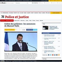 Face aux policiers, Valls promet de «corriger» des «dysfonctionnements»
